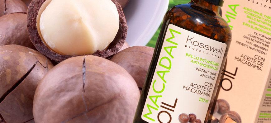 Naturalny olejek do włosów - olej do włosów macadam