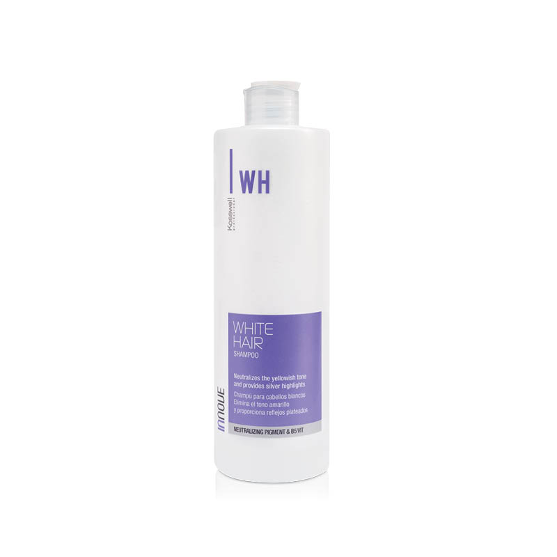 Kosswell White Hair Shampoo 500ml, szampon do włosów blond