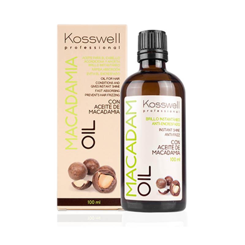 Kosswell Macadam Oil 100ml, naturalny olejek do włosów