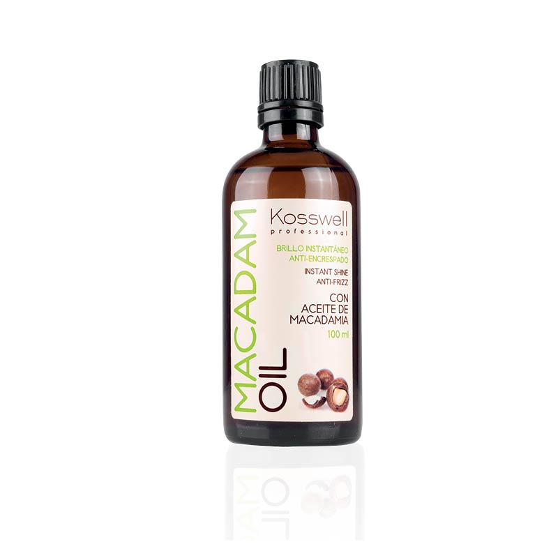 Kosswell Macadam Oil 100ml. naturalny olejek do włosów